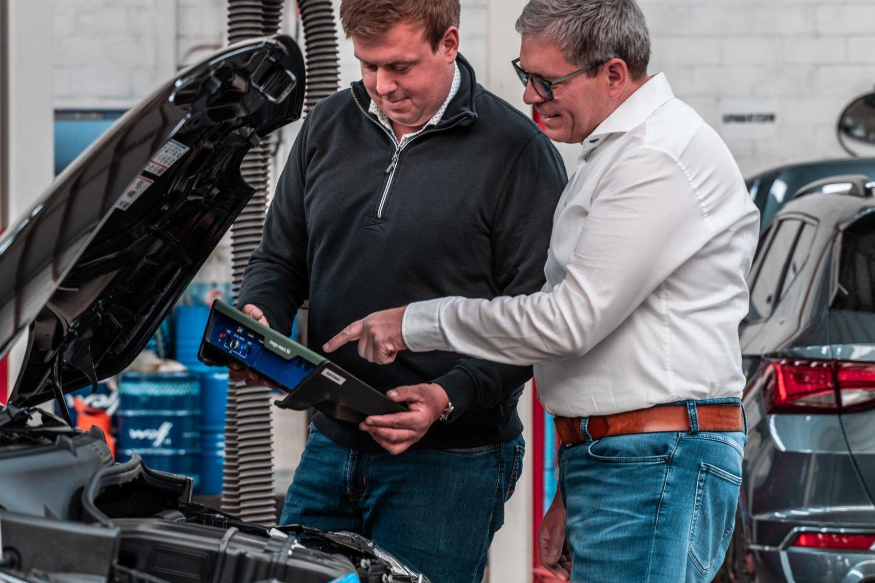Technische keuring service bij Garage Boel